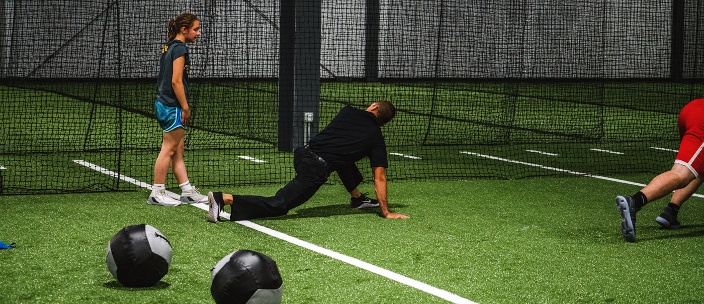 Conditioning on indoor turf
